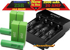 18650 SAMSUNG 25R 2500Mah 20A Flat Top High Drain Li-ion lot Battery 3.7 -Select