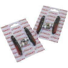 CMX 2 par bremsgummis zapatas de freno 72mm V-freno para XTR Shimano Deore XT nuevo