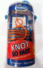 ThinkFun #7090 Knot So Fast Puzzle Kids Game Fun Challenging Brain Teaser