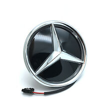 Colorful LED Light Front Grille Mirror Star Emblem for 2011-2017 Mercedes Benz