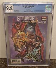 Strange Academy # 1 CGC 9.8  2nd Print Multiple 1st Appearances