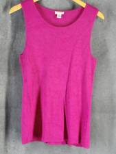 Chico's 2 Large Violet Knit Tank Sleeveless Top Chicos