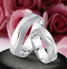 2 Ringe Trauringe Eheringe Hochzeitsringe 6mm , Silber 925 , Gravur Gratis  J13x