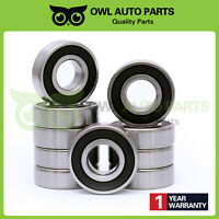 Lot of 10 PCS 6204-2RS C3 6204RS Premium Rubber Sealed Ball Bearing 20x47x14mm