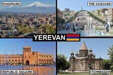 SOUVENIR FRIDGE MAGNET of YEREVAN ARMENIA
