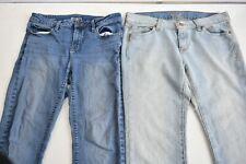 Stylus & Old Navy Women's Size 10 Casual Wear Denim Blue Jeans Lot of 2