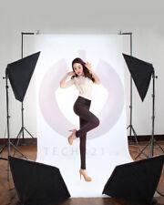 Photo Studio Softbox Soft Box Lighting 2 Backdrop + Background Support Stand Kit