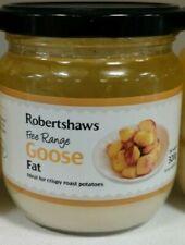 ROBERTSHAWS GOOSE  FAT 💯%ORGANIC PURE / IDEAL FOR CRISPY ROAST FOOD / POTATOES.