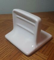 Vintage Wall Mount  Tumbler Soap Holder Cream Color Made in USA