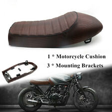 Leather Waterproof Surface  Motorcycle Soft Sponge Seat Racing Bike Hump Cushion
