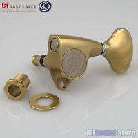 NEW- GOTOH SGV510Z-L5-XG L3+R3 Tuners Keys 1:21 Ratio, 3x3 - ANTIQUE X-GOLD