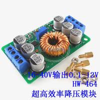 DC Buck Power Converter 16V~40V To 1~12V 6A Adjustable Voltage Step Down Module