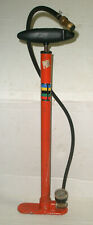 VTG SILCA / COLUMBUS MADE in ITALY BICYCLE TIRE FLOOR AIR PUMP - WORKS!