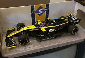 Solido 1/18 F1 Renault RS20 2020 Esteban Ocon. New in box.