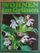 WOHNEN IM GRÜNEN 3 - 1979 DDR-Journal Garten Pflanzen Blumen Obst Gemüseanbau