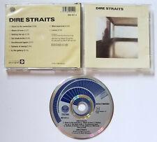 DIRE STRAITS self-titled CD 1983 West Germany Pressing blue swirl MARK KNOPFLER