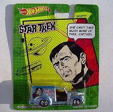 SCOTTY. Star Trek. Hot Wheels. Custom '52 Chevy.  New in Blister Pack!