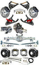 NEW SUSPENSION & WILWOOD BRAKE SET,CURRIE REAR END,CONTROL ARMS,POSI GEAR,687233