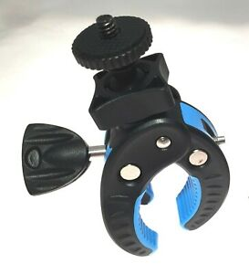 Multi-Grip Handlebar Mount Clamp for Go Pro and Action Cameras