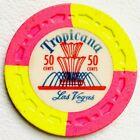 Las Vegas TROPICANA .50¢ Casino Chip R 7 VERY RARE