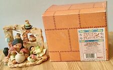 Enesco Friends Of The Feather Girl Making Pottery 1996 Box 267856