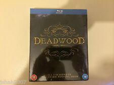 Deadwood THE ULTIMATE COLLECTION BLU RAY tutte le 3 stagioni * NUOVO SIGILLATO *
