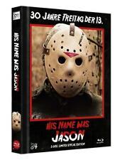 Freitag der 13. - His Name was JASON - Cover B - Limited Mediabook Edition - NEU