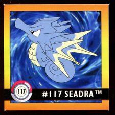 POKEMON STICKER ENGLISH CARD 50X50 1998 NORMAL N°  117 SEADRA HYPOCEAN