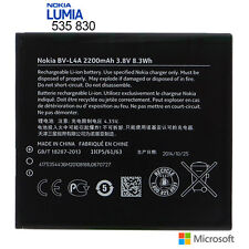 For Nokia Lumia 535 830 Original Internal Battery Replacement 2200mAh BV-L4A New