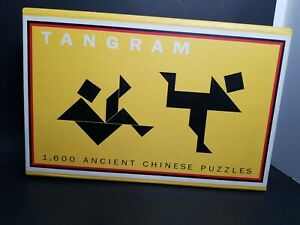 Tangram 1600 Ancient Chinese Puzzle Book Mind Game Brain Thinking Creative Learn