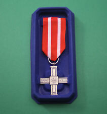 POLISH CROSS for DEFENDER OF HOMELAND - 1918-1921 2nd Repubilc army medal order