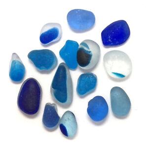 RARE BLUE Multi Sea Glass North East Coast Seaham Beach Seaglass