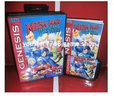 Mega Man The Wily Wars for Sega MegaDrive Video Game console system 16 bit MD