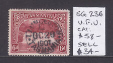 Tasmania: 6d Pictorial Sg 236 Fine Used And Scarce.