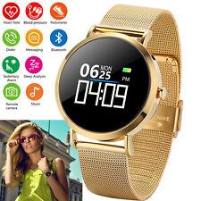 Waterproof Women Men Bluetooth Smart Watch Phone For Samsung Galaxy S8 Plus S9