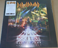 DEF LEPPARD! ROCK & ROLL HALL OF FAME 29 MARCH 2019! RECORD STORE DAY! VINYL LP!