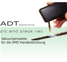 ADT Elektronische SMD Saugpumpe Pinzette Greifer Set 3 Pipetten für SMD Bauteile