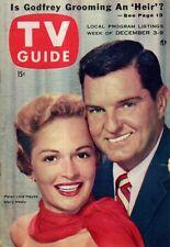 1955 TV Guide December 3 Ida Lupino; All America football;Goofy;Alfred Hitchcock