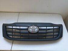 Toyota Hilux Grill Grille Front Black Chrome Badge