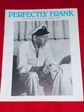 SINATRA - PERFECTLY FRANK #179  June 1983