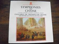 Symphonies de chasse - trompes de chasse - Jean françois Paillard - erato  70234