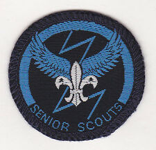 1960's UNITED KINGDOM (UK) / BRITISH SCOUTS - SENIOR SCOUT AIRMAN'S Woven Badge