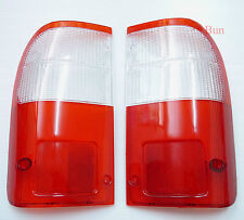 FOR TOYOTA HILUX MK4 REAR TAIL LIGHT LENS 1998 - 2002 1999 2001 LH RH O/S N/S