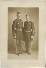 Vintage West Point photo portrait of Cadets in costume dressed as officers