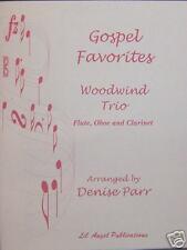 Gospel Favorites WOODWIND Trio by  D.Parr