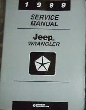 1999 JEEP WRANGLER Service Shop Repair Workshop Manual BRAND NEW
