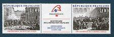 TRIPTYQUE T2538A XX TIMBRES LUXE - BICENTENAIRE DE LA REVOLUTION FRANCAISE