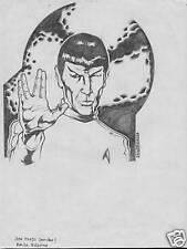 SPOCK from STAR TREK original art by JOHN TOLEDO