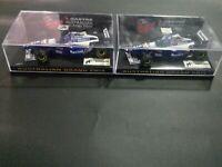 1/43 Minichamps QANTAS Williams FW18 Cars Hill And Villeneuve 2pcs (sold as set)