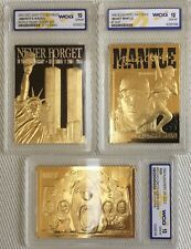 BLEACHERS 23k GOLD TRADING CARDS - GEM MINT 10 - NUMBERED LIMITED EDITIONS